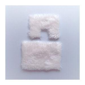Alerte Dolls House 2612 Tapis Set Blanc 1:12 Pour Maison De Poupée Nouveau! #-afficher Le Titre D'origine Beau Lustre