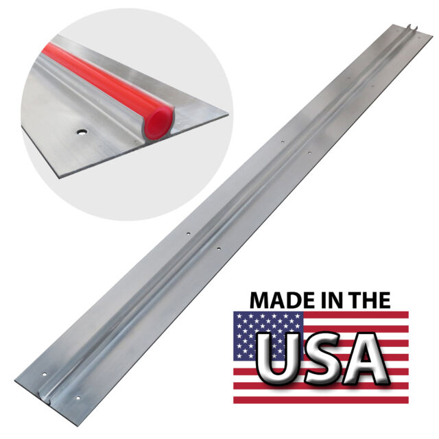 (25) 4 ft Extruded Aluminum Heat Transfer Plates for 1/2