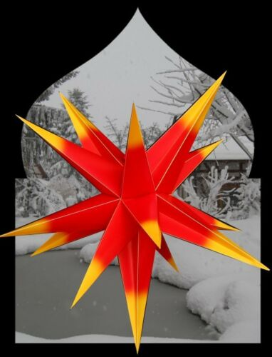 100 cm 3D Faltstern Außenstern außen Stern Weihnachtsstern Adventsstern PA
