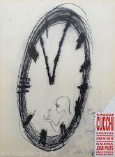 CUCCHI ENZO AFFICHE 1989 TIRÉE EN LITHOGRAPHIE LITHOGRAPHIC POSTER POLIGRAFA