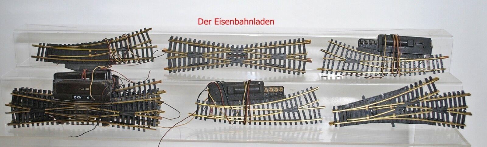 Fleischmann h0 1711,6046,5058, etc., colección suave véase foto -- da2.7.