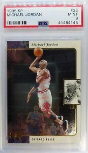 1995-96-Upper-Deck-SP-Michael-Jordan-23-Foil-CHICAGO-BULLS-HOF-Graded-PSA-9
