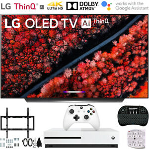"LG 55"" C9 4K HDR Smart OLED TV w/ AI ThinQ (2019) + Xbox One S Bundle"