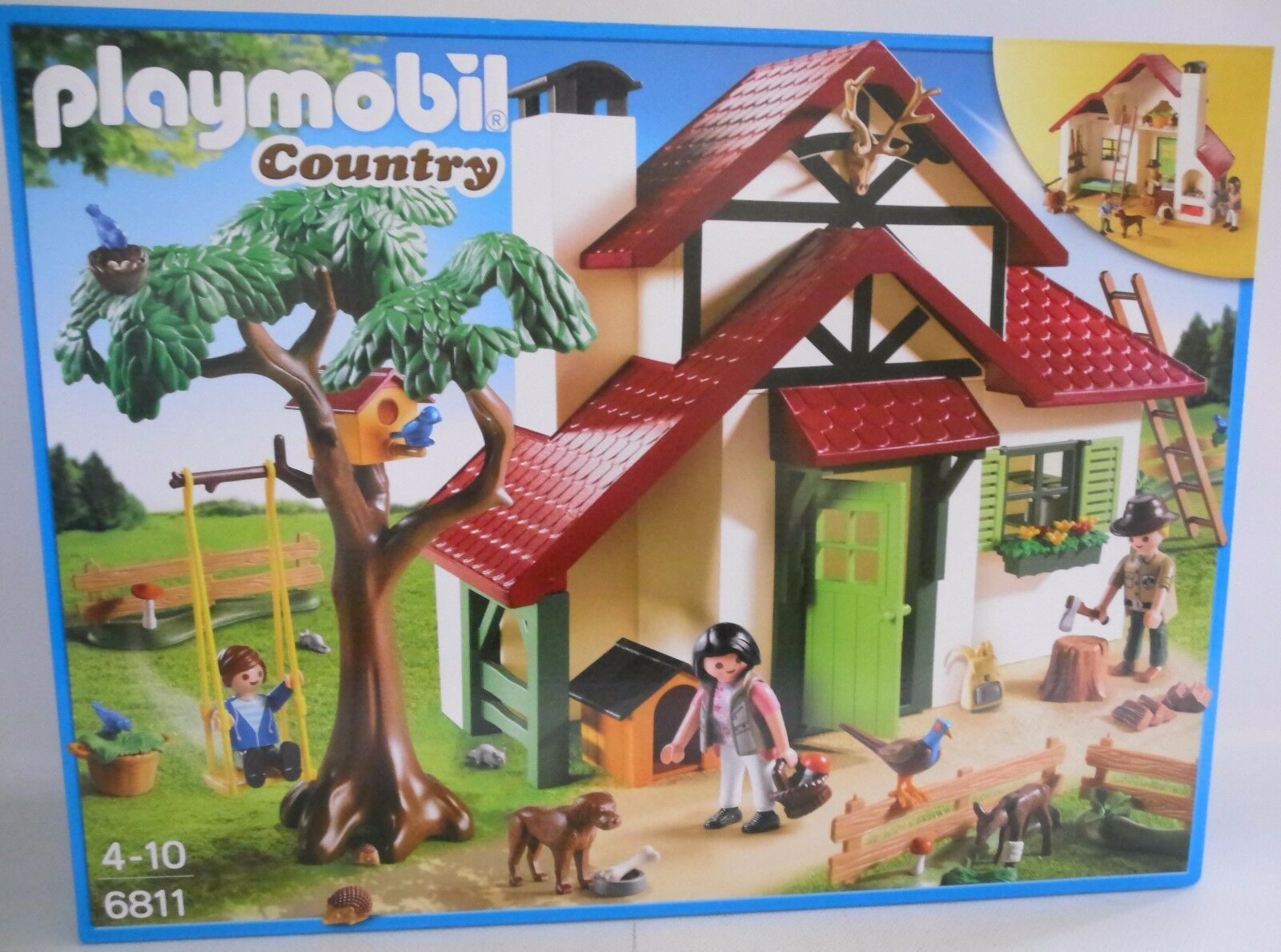 NEU PLAYMOBIL® COUNTRY OVP 6811 Forsthaus OVP COUNTRY 2b2d81