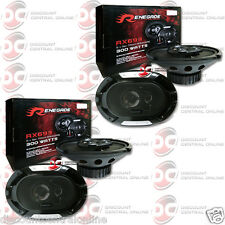 """4 x BRAND NEW RENEGADE 6x9-INCH 6x9"""" 3-WAY CAR AUDIO COAXIAL SPEAKERS"""
