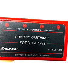 Snap On Mt2500 1293 Diagnostics Test Module Primary Cartridge For Ford 1981 1993
