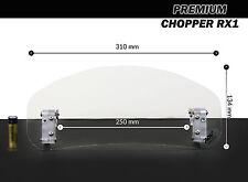 Windscreen deflector clear windshield CHOPPER motorcycle motorbike