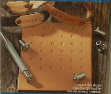 "Leather Stamp Set - 36pc 1/8"" Metal Alphabet & Numbers by Artminds * New Sealed"