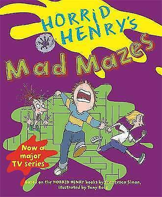 Horrid Henry's Mad Mazes: Bk. 9, Simon, Francesca, Excellent Book