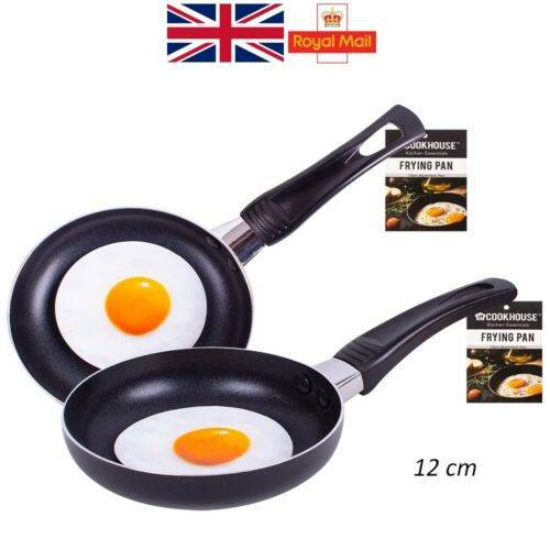 Mini Frying Pan 12cm Aluminium Egg Omelette Pancake Non-Stick