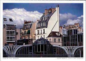 PARIS-Postkarte-Frankreich-France-Carte-Postale-Forum-des-Halles-AK-ungelaufen