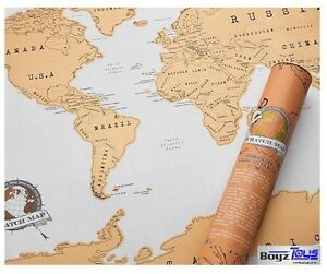 LARGE-Scratch-Map-Travel-Atlas-Personalised-World-Map-Great-Gift-Christmas