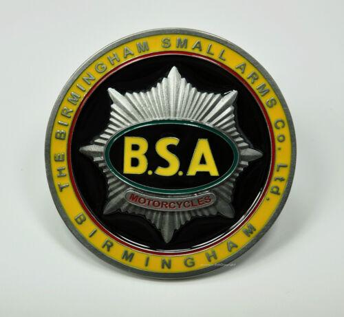 BSA Vintage Motorcycle Belt Buckle Belt Buckle Licensed Emblem Classic Car 207