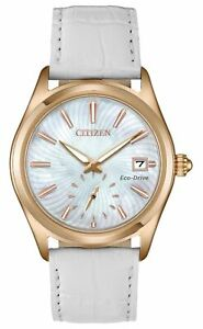 Citizen Corso Eco-Drive Movement Mother of Pearl Dial Ladies Watch EV1033-08D
