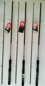 LOT-3-SPINNING-ZEBCO-AUTHENTIC-SERIES-MEDIUM-ACTION-6-034-foot-2-PIECE-NEW-RODS
