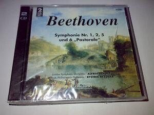 Beethoven-Symphonie-Nr-1-2-5-und-6-034-Pastorale-034-2-CD-Box-LSO-SPO-Scholz