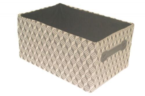 Heart of Home Woven Fabric Shelf Storage Basket Box