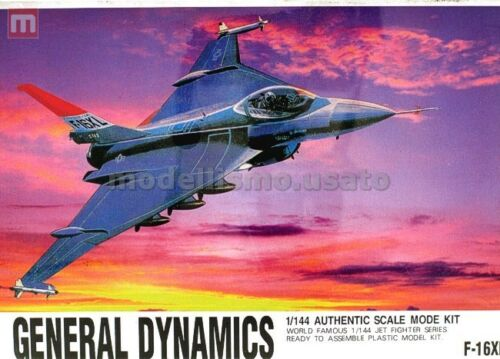 CC Lee 02206 General Dynamics F-16XL 1:144 modellismo statico