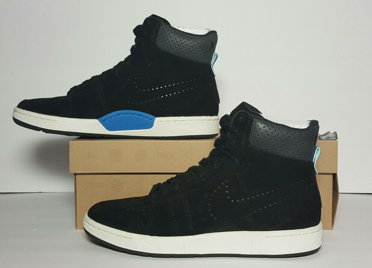 NIKE MEN'S AIR APPRENTICE NEW/BOX SIZES 7 & 7.5 BLACK 553549 009