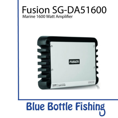 Fusion Signature Series 5 Channel Marine Amplifier SG-DA51600