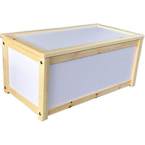 Juguete de madera m dulo de almacenaje ba l caja infantil juguetes cajas ebay - Caja almacenaje infantil ...