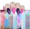 12pcs Starry Sky Nail Art DIY Sticker Decal Water Transfer Stickers Tips Decor
