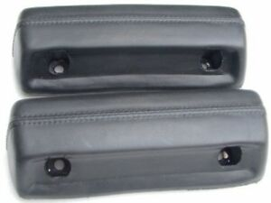 Mopar-Arm-Rest-pads-68-69-70-71-72-A-Body-Black-PR-PADSA