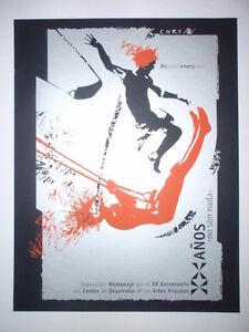 5-DAY-SALE-Signed-CUBAN-Screenprint-Poster-Salutes-CUBA-Art-Center-ONLY-20-MADE