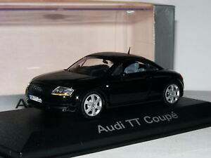 Minichamps-1998-Audi-TT-Coupe-Negro-Distribuidor-Edition-1-43
