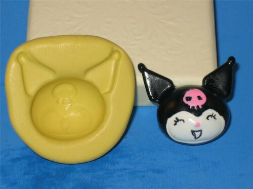 Kuromi Flexible 2D Push Mold Food Safe Silicone A250 Cake Topper Fondant Sugar