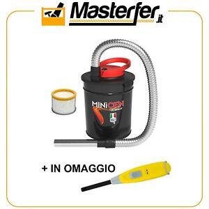 Aspiracenere-Ribitech-MINICEN-800W-10lt-aspira-cenere-stufa-camino-con-OMAGGIO