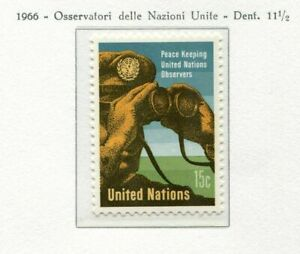 19070) United Nations (New York) 1966 MNH New Peace