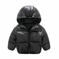 Light Boys Jacket For Girls Parkas Cotton Children Winter Coat Baby Snowsuits