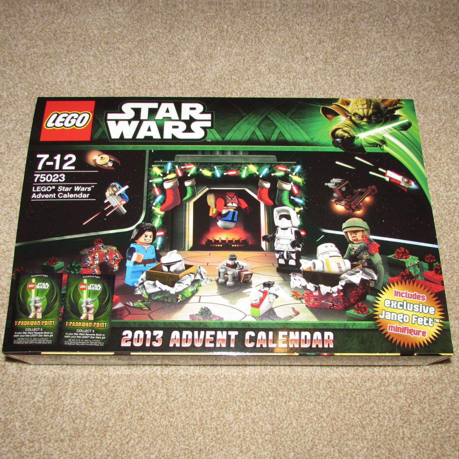 LEGO 75023 Star Wars Xmas Advent Calendar Retired 2013 Set