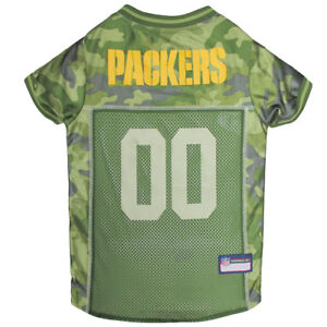 Green-Bay-Packers-NFL-Pets-First-Licensed-Dog-Pet-Mesh-Jersey-Camo-XS-XL-NWT