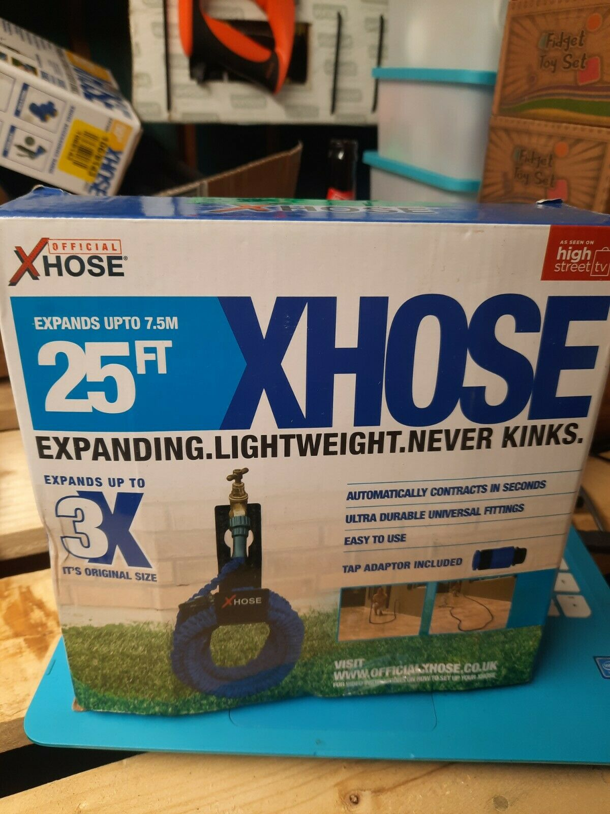 XHose Expanding Hose Pipe 25ft