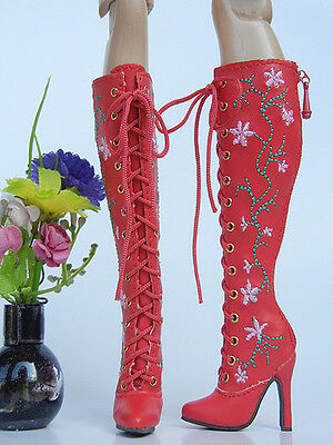 """Zhang_young Embroidery boot for 16""""Sybarite /AvantGuard dolls(19-SB-24)"""