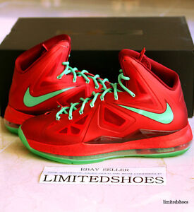 release date: bf816 242a8 image is loading nike lebron x 10 christmas 541100 600 us
