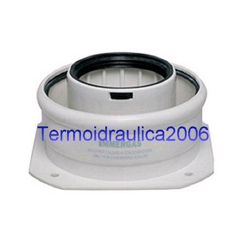 Immergas Kit Tronchetto Flangiato 3.012086 per Caldaie a Condensazione 60//100