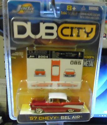 1957 CHEVY BEL AIR #085 2004 JADA DUB CITY 1:64