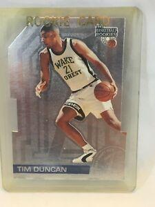 Details About Tim Duncan 1997 Score Board Die Cut Rookie Card