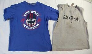 Nike Lot of 2 Boys Tops for Play Size Large