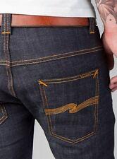 "NUDIE JEANS CO. ""Thin Finn"" Org. Dry Twill Stretch Skinny Denim Jeans-Men's 29"