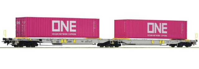 Roco 76426, Doppeltaschen-Gelenkwagen ONE, AAE, Neu und OVP, H0