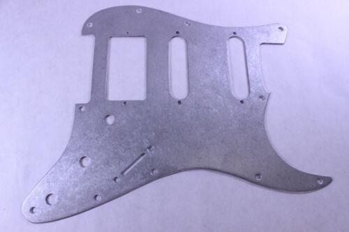 Distressed Aluminum Steampunk HSS Strat Pickguard Fits Fender Stratocaster USA