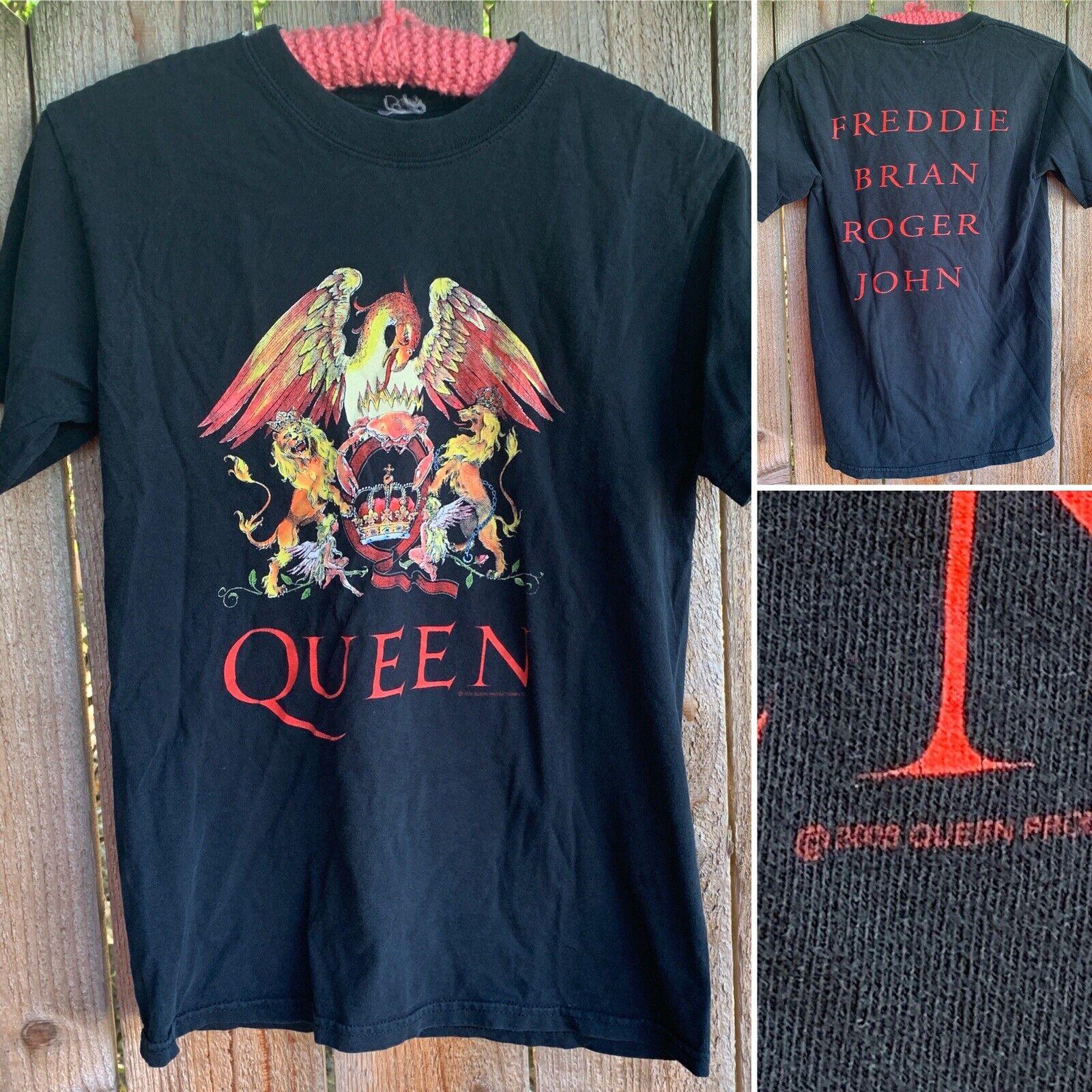 Queen Freddie Brian Roger John T-Shirt Graphics O… - image 3