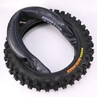 3.00-12 80/100-12 Tyre Tire + Tube For Pit Pro Honda Crf70 Xr70 Dirt Trail Bike