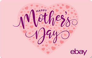eBay-Digital-Gift-card-Happy-Mother-039-s-Day-25-50-100-or-200-Email-Delivery