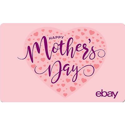 eBay Digital Gift card - Happy Mother's Day $25 $50 $100 or $200 -Email Delivery