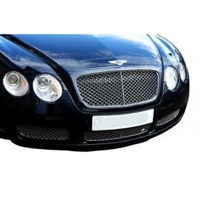 Bentley Continental GT Lower Grill  Set - Silver finish (2003 to 2007)